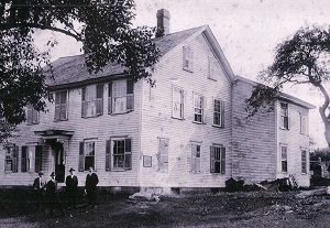 Earliest Known Photo of Homestead